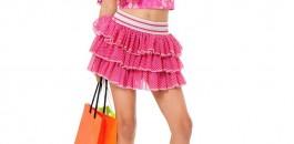 Déjà petite j'adorais faire du shopping