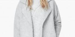 J'affronte l'hiver avec mon manteau en laine