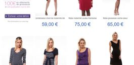 Catalogue vêtements femme