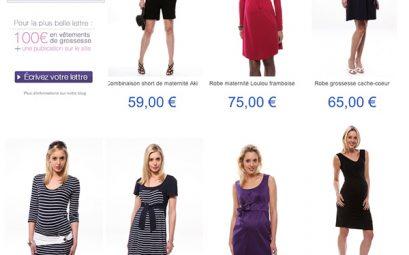 catalogue vêtements femme