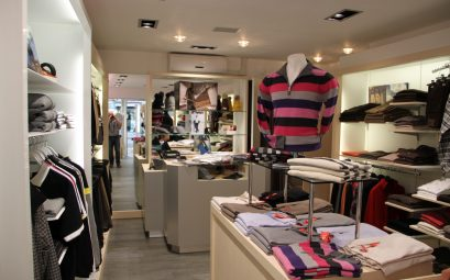 magasin de vêtement