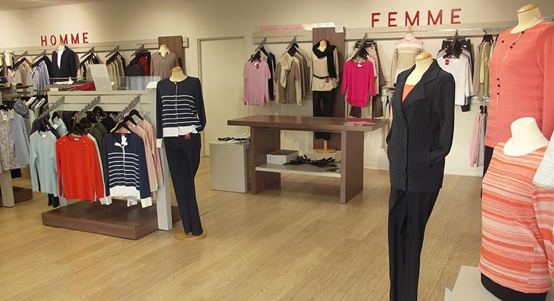 magasin manteau femme