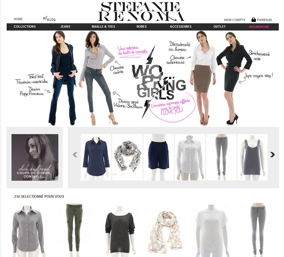 sites de mode femme